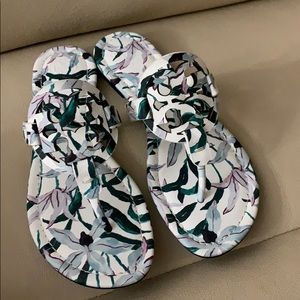 Tory Burch Shoes - New Tory Burch Miller floral sandals